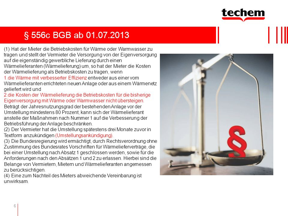 § 556c BGB ab 01.07.2013