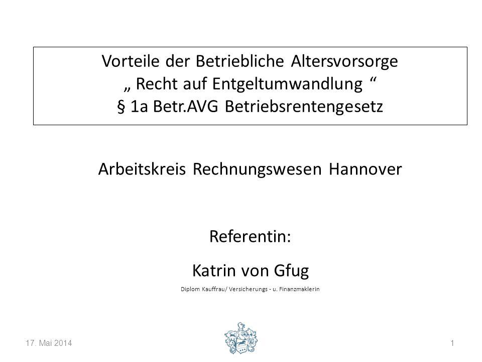Arbeitskreis Rechnungswesen Hannover