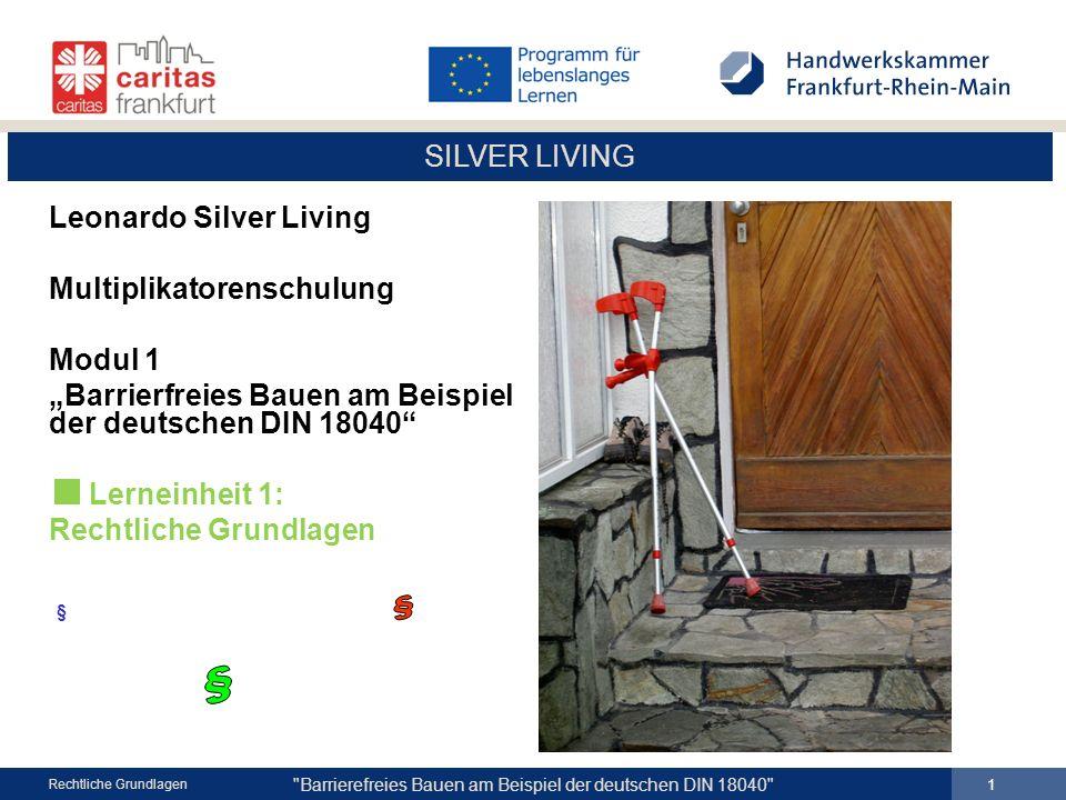 § § Leonardo Silver Living Multiplikatorenschulung Modul 1