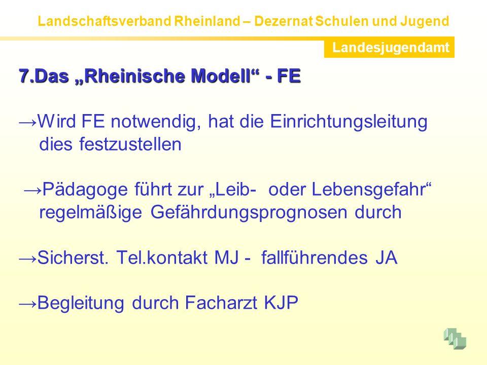 """7.Das """"Rheinische Modell - FE"""