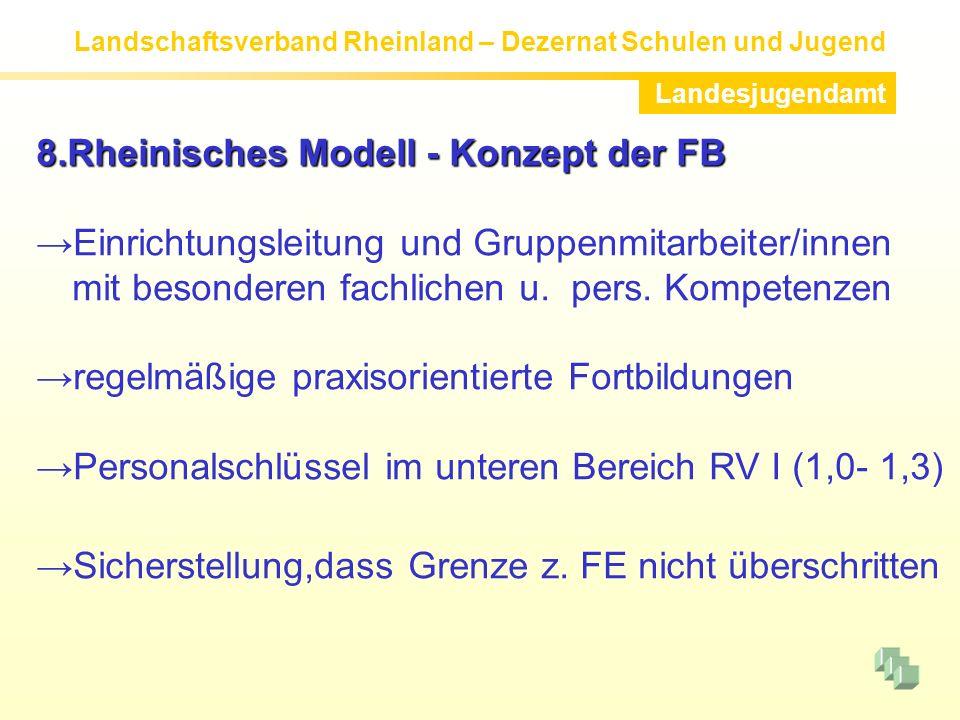 8.Rheinisches Modell - Konzept der FB