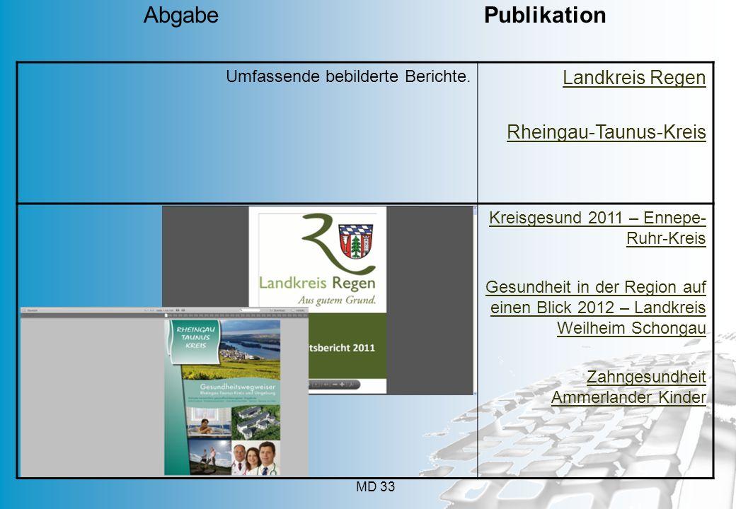 Abgabe Publikation Landkreis Regen Rheingau-Taunus-Kreis