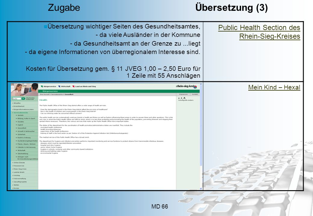 Zugabe Übersetzung (3) Public Health Section des Rhein-Sieg-Kreises