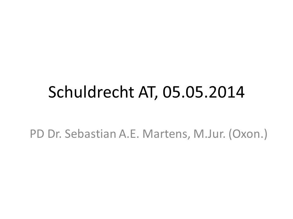 PD Dr. Sebastian A.E. Martens, M.Jur. (Oxon.)