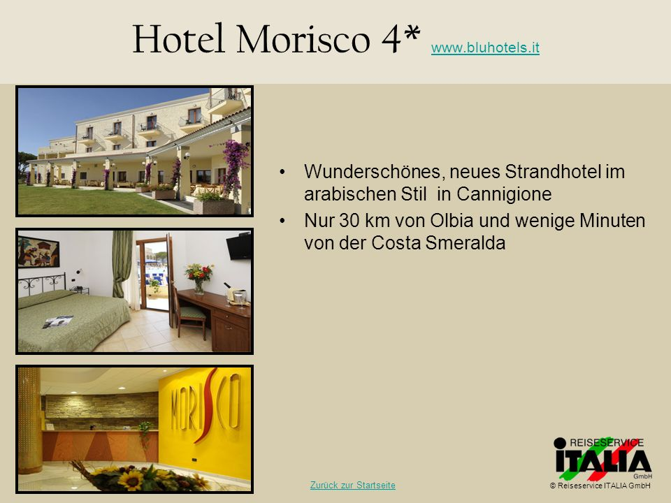 Hotel Morisco 4* www.bluhotels.it