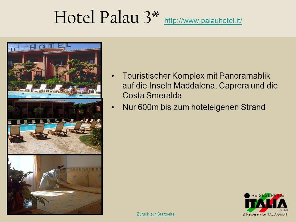 Hotel Palau 3* http://www.palauhotel.it/