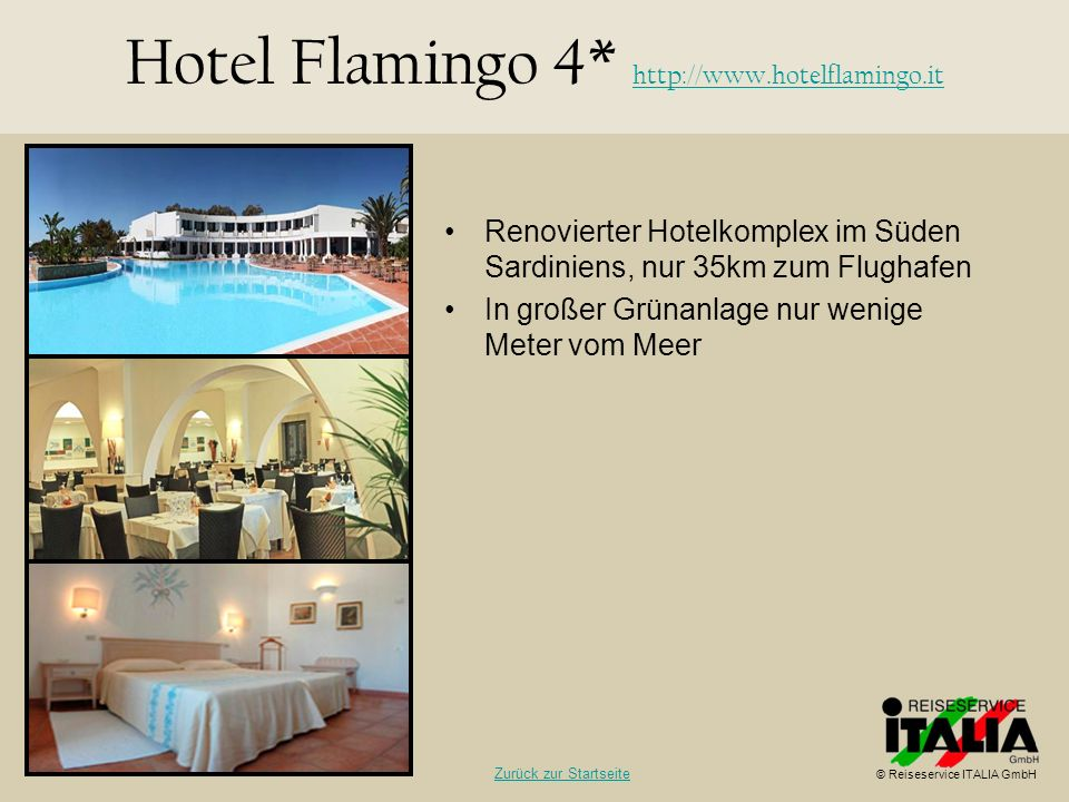 Hotel Flamingo 4* http://www.hotelflamingo.it