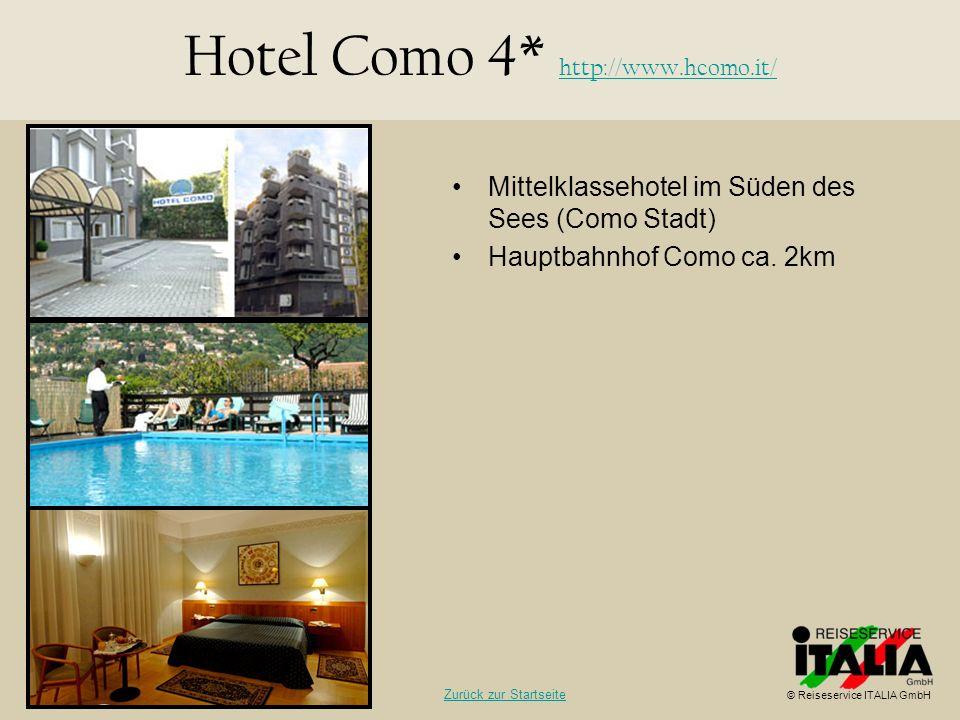 Hotel Como 4* http://www.hcomo.it/