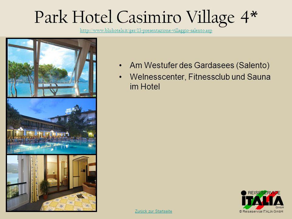 Park Hotel Casimiro Village 4. http://www. bluhotels
