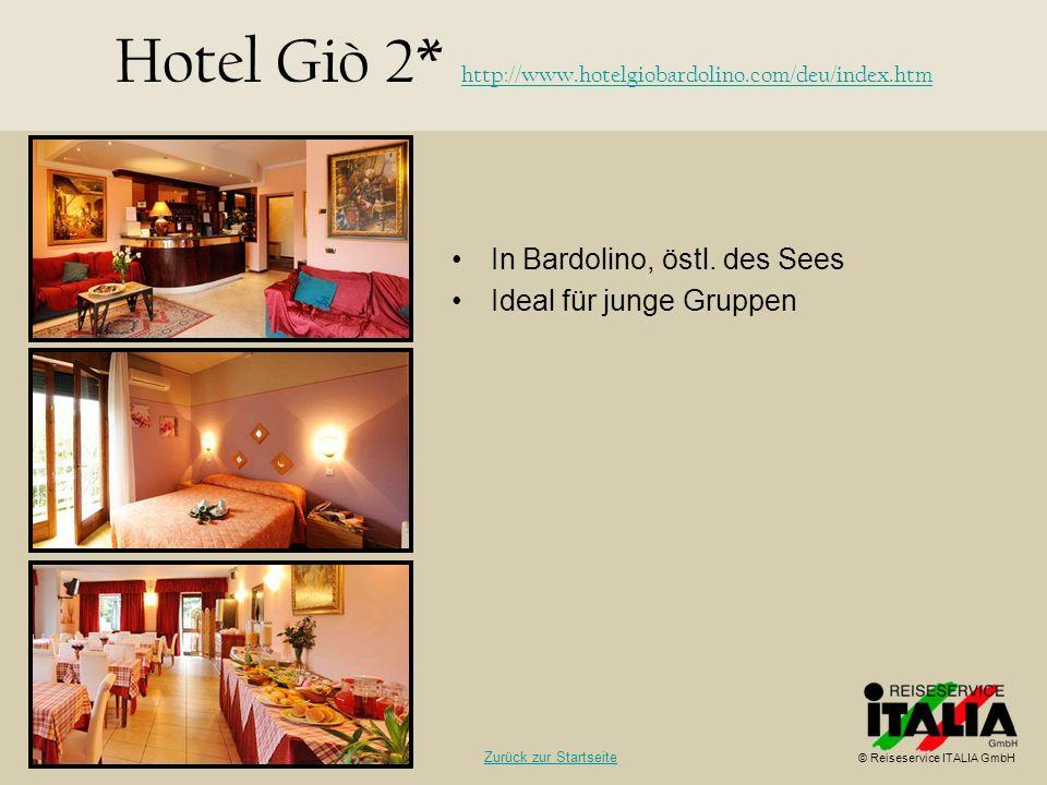 Hotel Giò 2* http://www.hotelgiobardolino.com/deu/index.htm