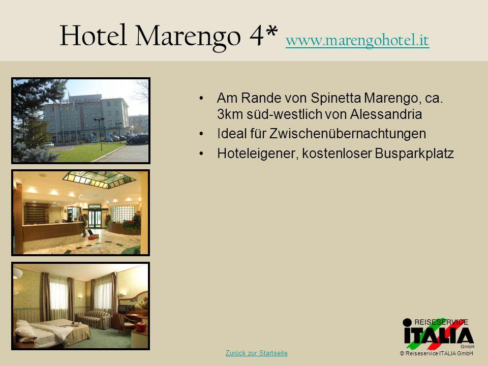 Hotel Marengo 4* www.marengohotel.it