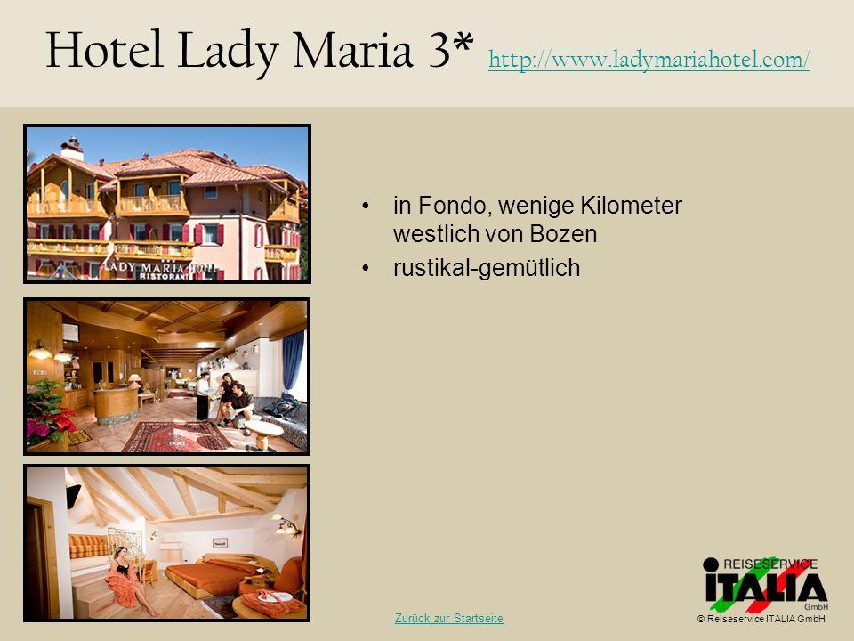 Hotel Lady Maria 3* http://www.ladymariahotel.com/