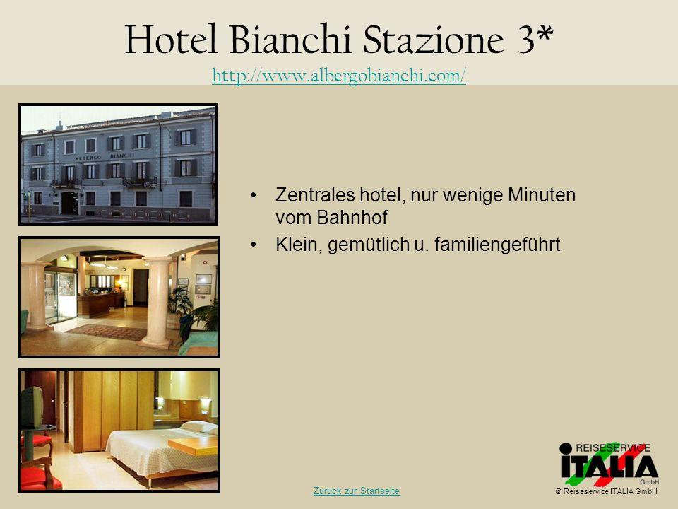 Hotel Bianchi Stazione 3* http://www.albergobianchi.com/