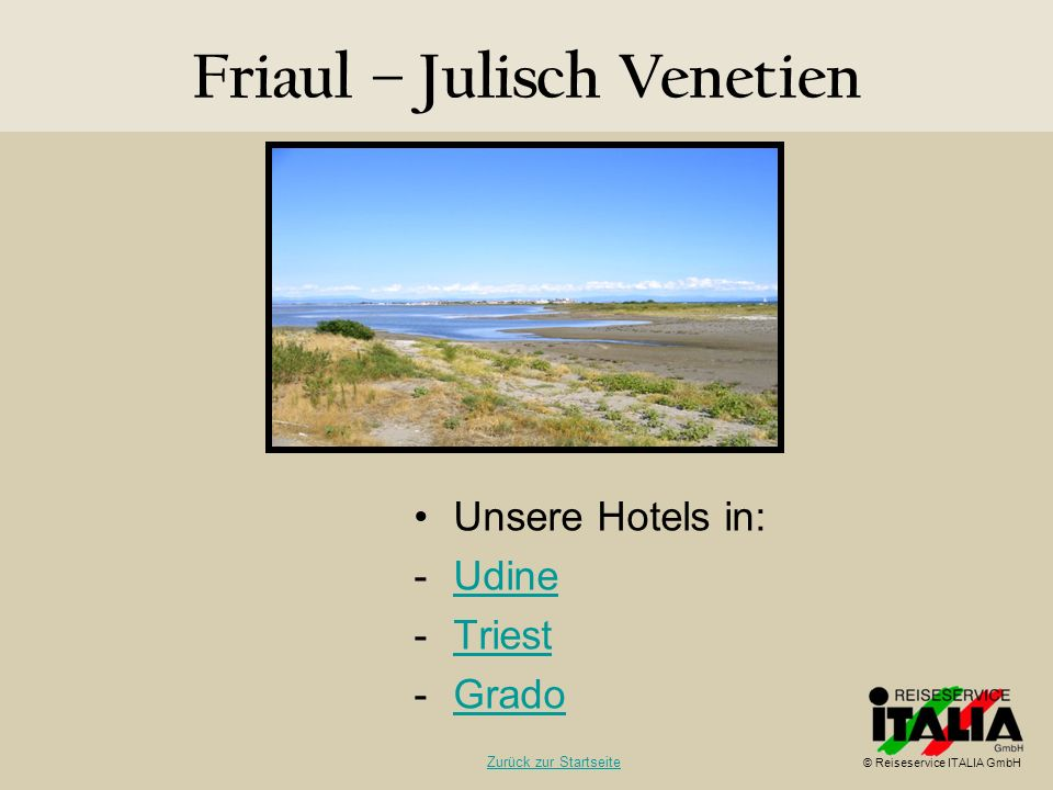 Friaul – Julisch Venetien