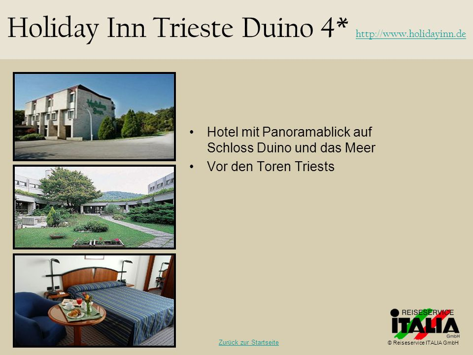 Holiday Inn Trieste Duino 4*