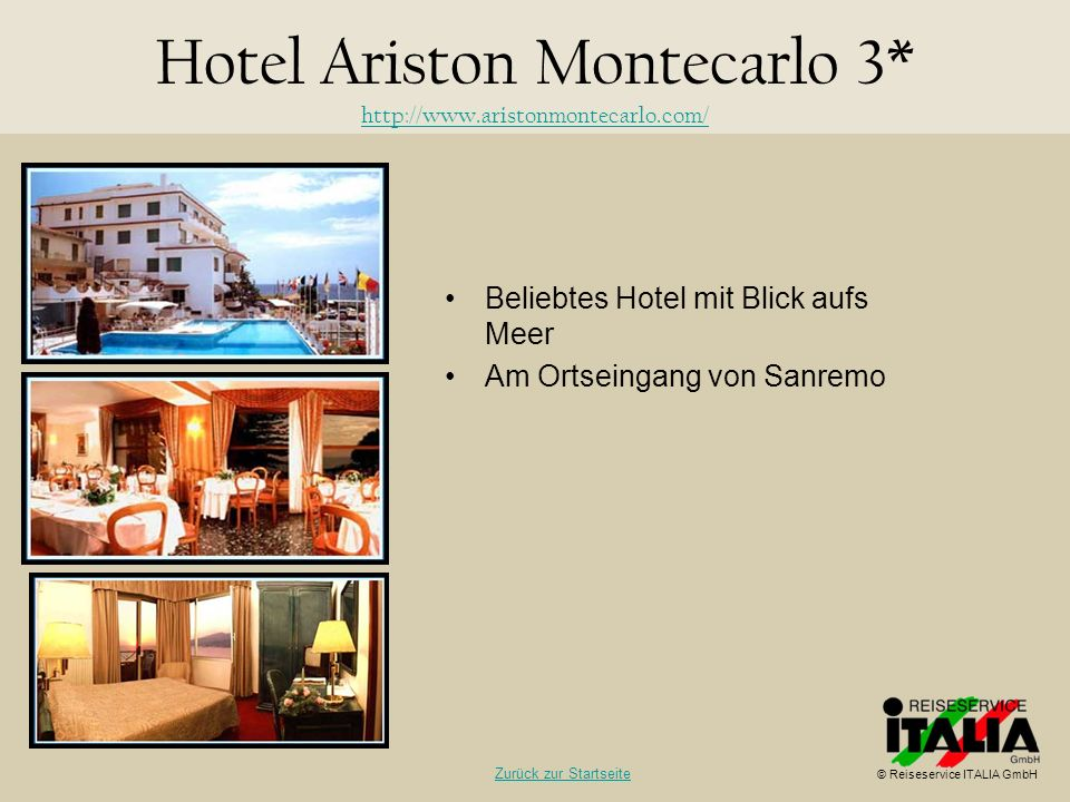 Hotel Ariston Montecarlo 3* http://www.aristonmontecarlo.com/