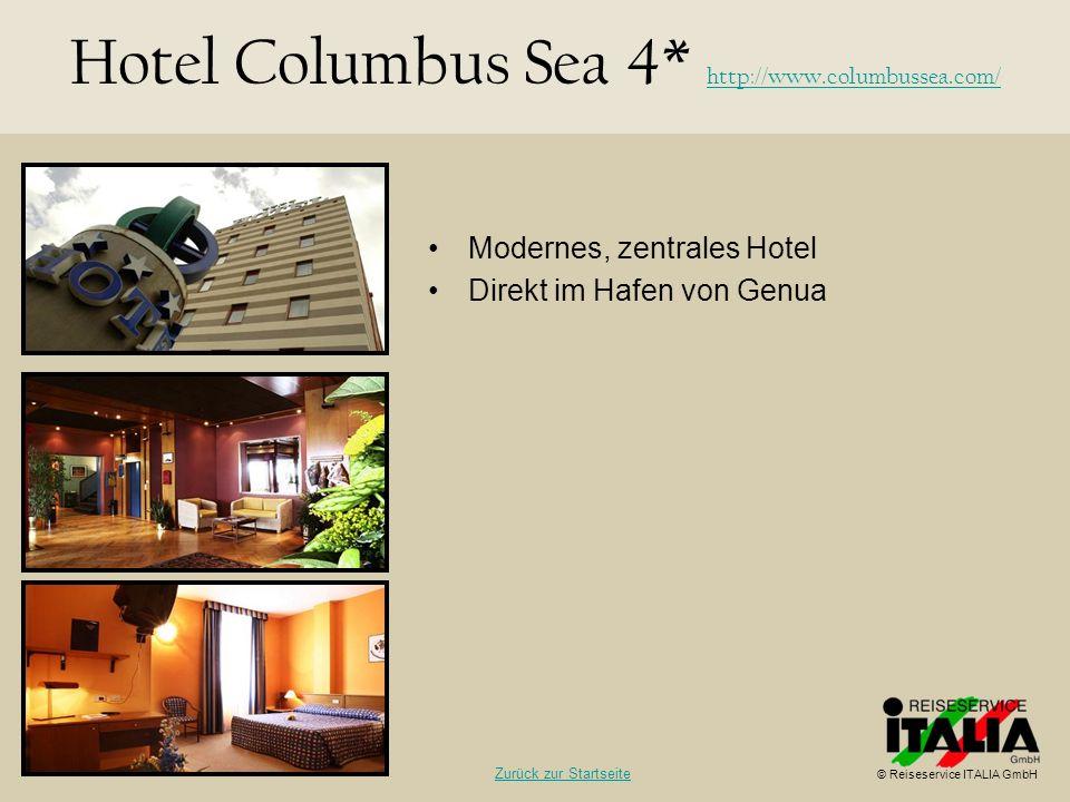 Hotel Columbus Sea 4* http://www.columbussea.com/