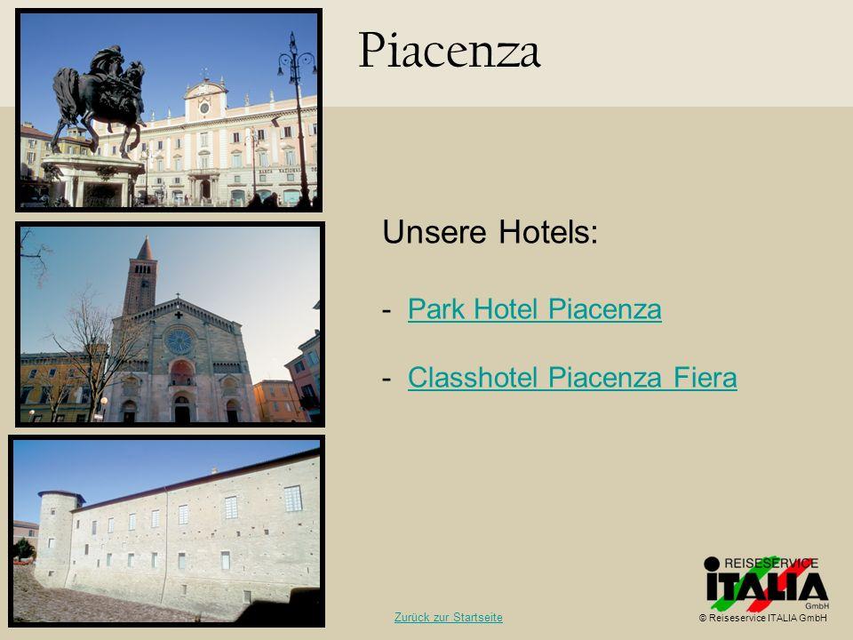 Piacenza Unsere Hotels: Park Hotel Piacenza Classhotel Piacenza Fiera