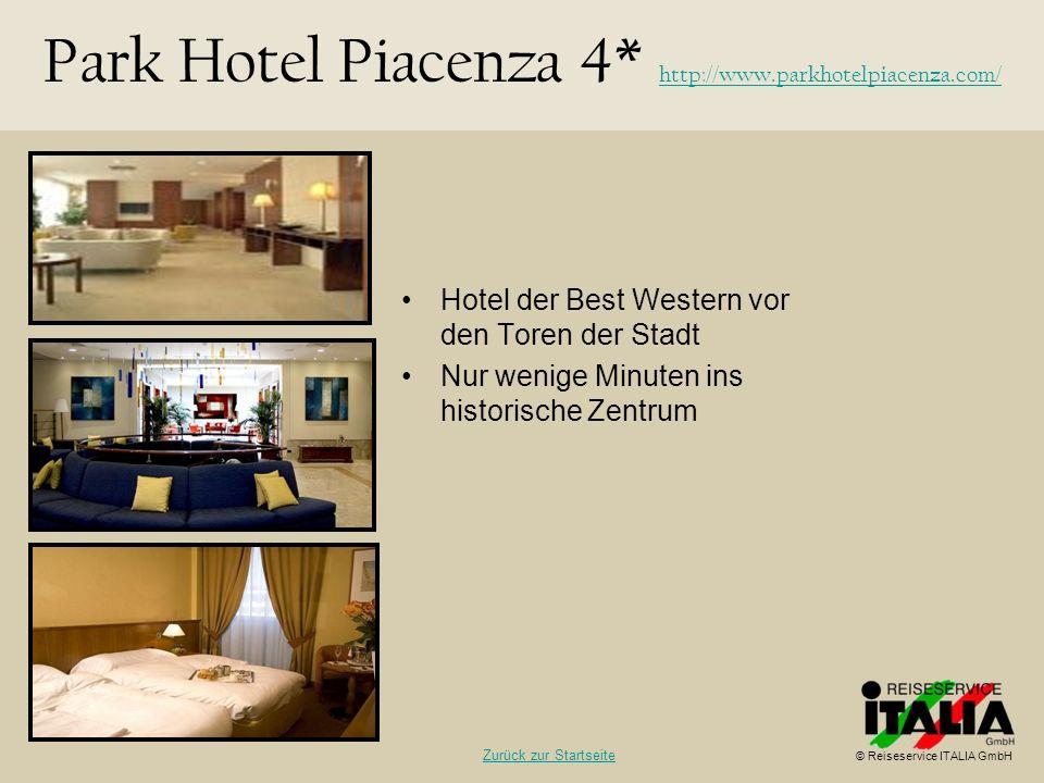 Park Hotel Piacenza 4* http://www.parkhotelpiacenza.com/
