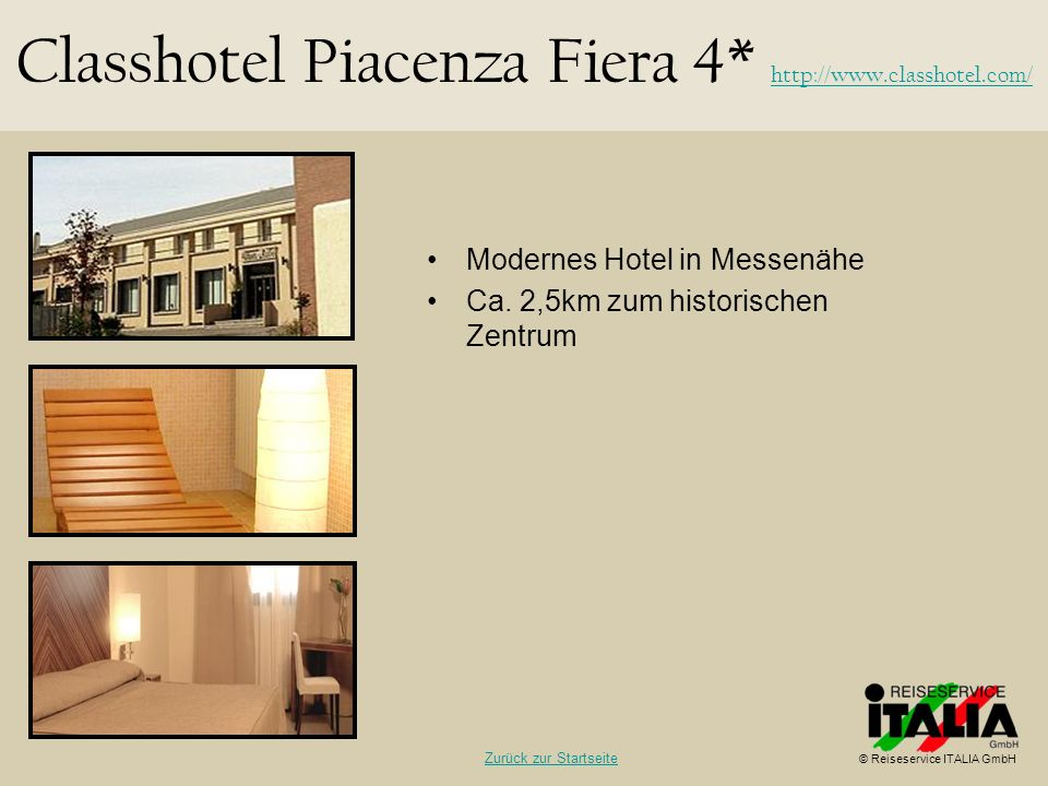 Classhotel Piacenza Fiera 4* http://www.classhotel.com/