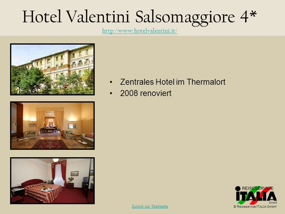 Hotel Valentini Salsomaggiore 4* http://www.hotelvalentini.it/