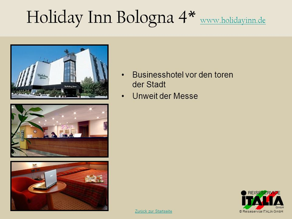 Holiday Inn Bologna 4*