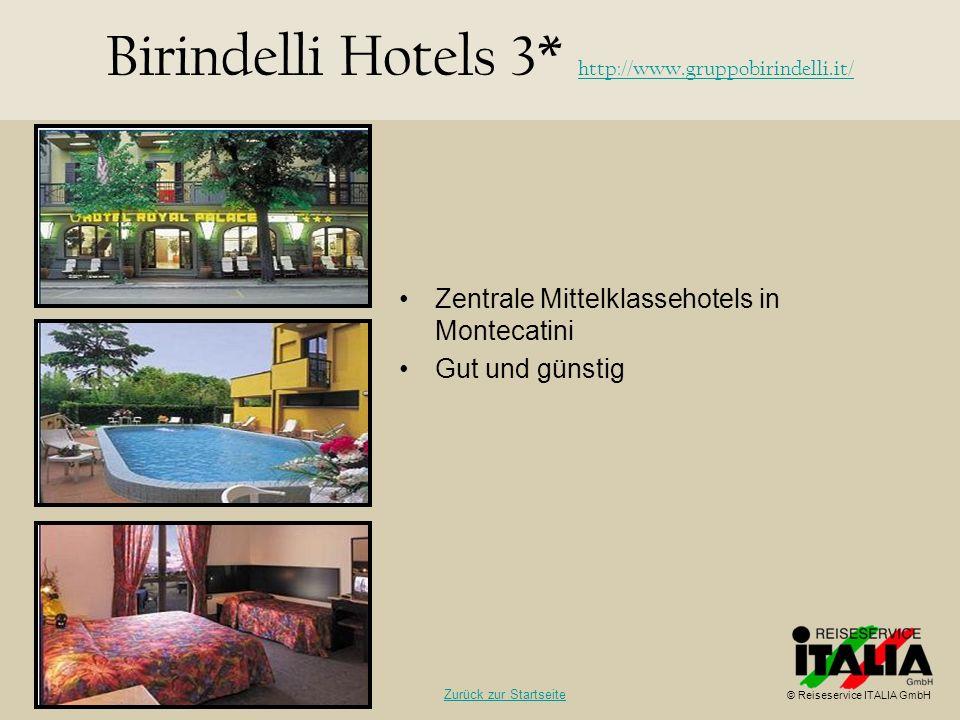 Birindelli Hotels 3* http://www.gruppobirindelli.it/
