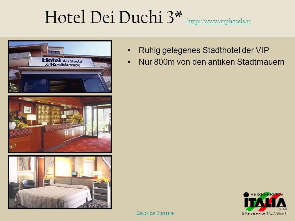 Hotel Dei Duchi 3* http://www.viphotels.it