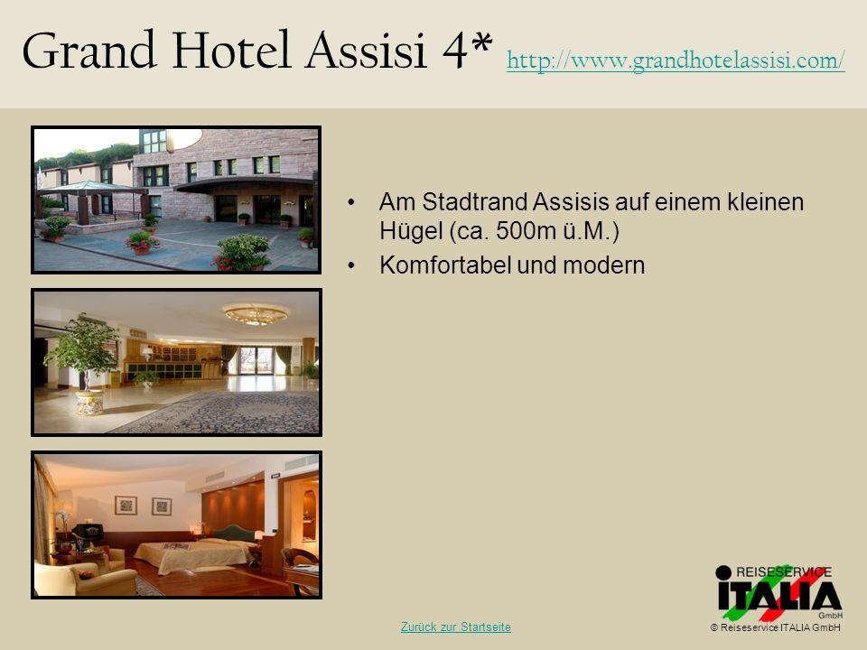 Grand Hotel Assisi 4* http://www.grandhotelassisi.com/