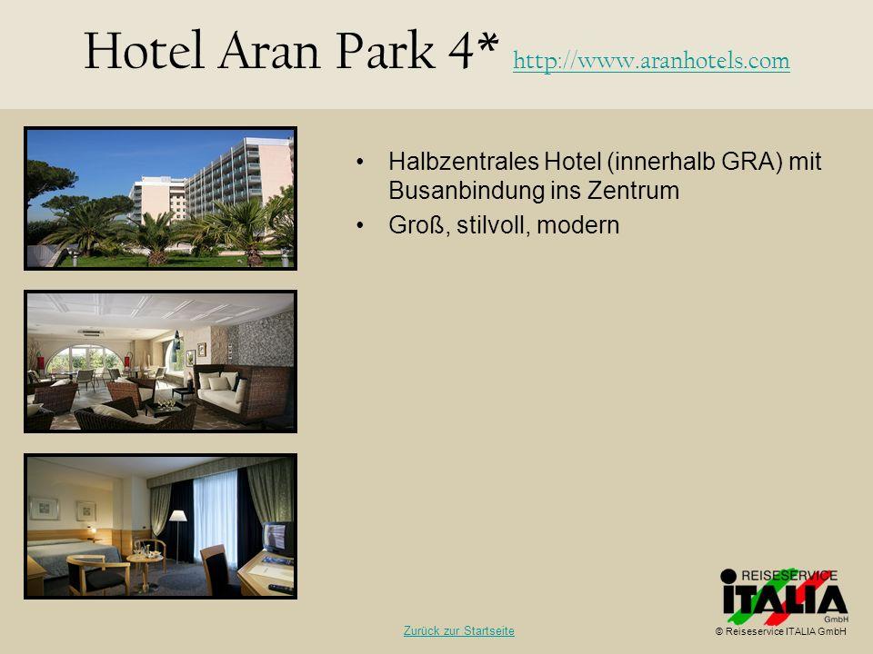 Hotel Aran Park 4* http://www.aranhotels.com