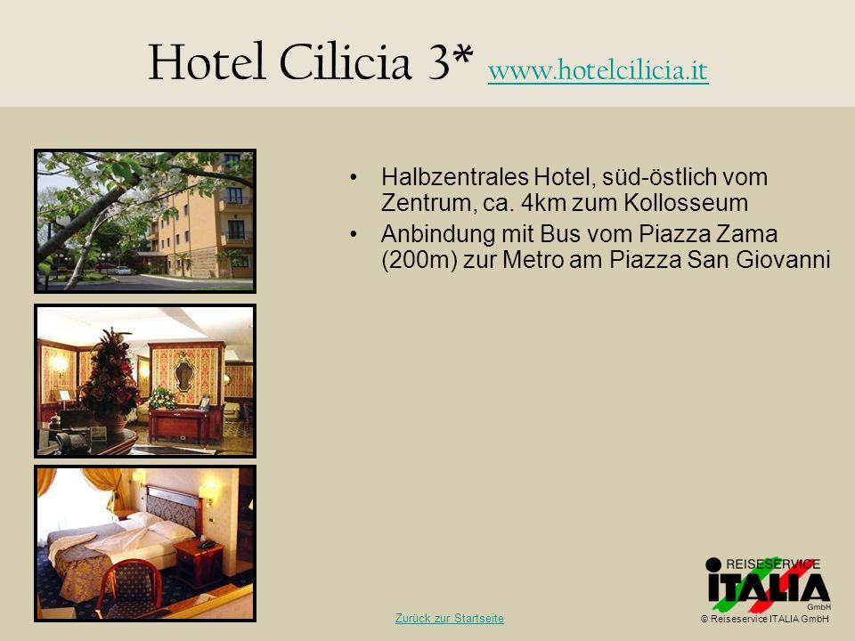 Hotel Cilicia 3* www.hotelcilicia.it