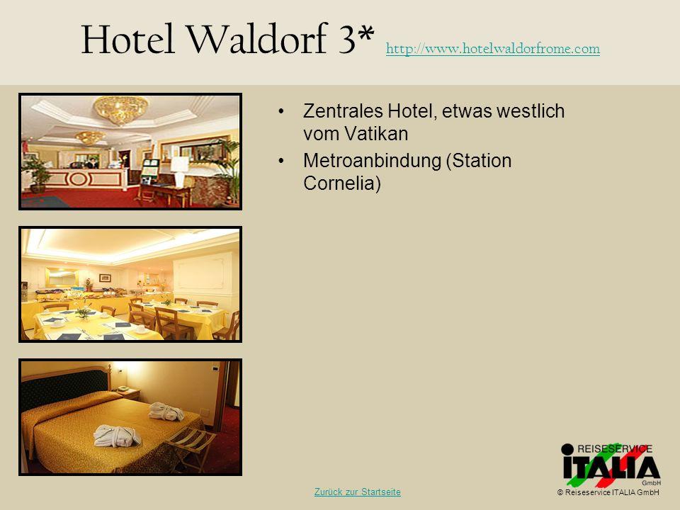 Hotel Waldorf 3* http://www.hotelwaldorfrome.com