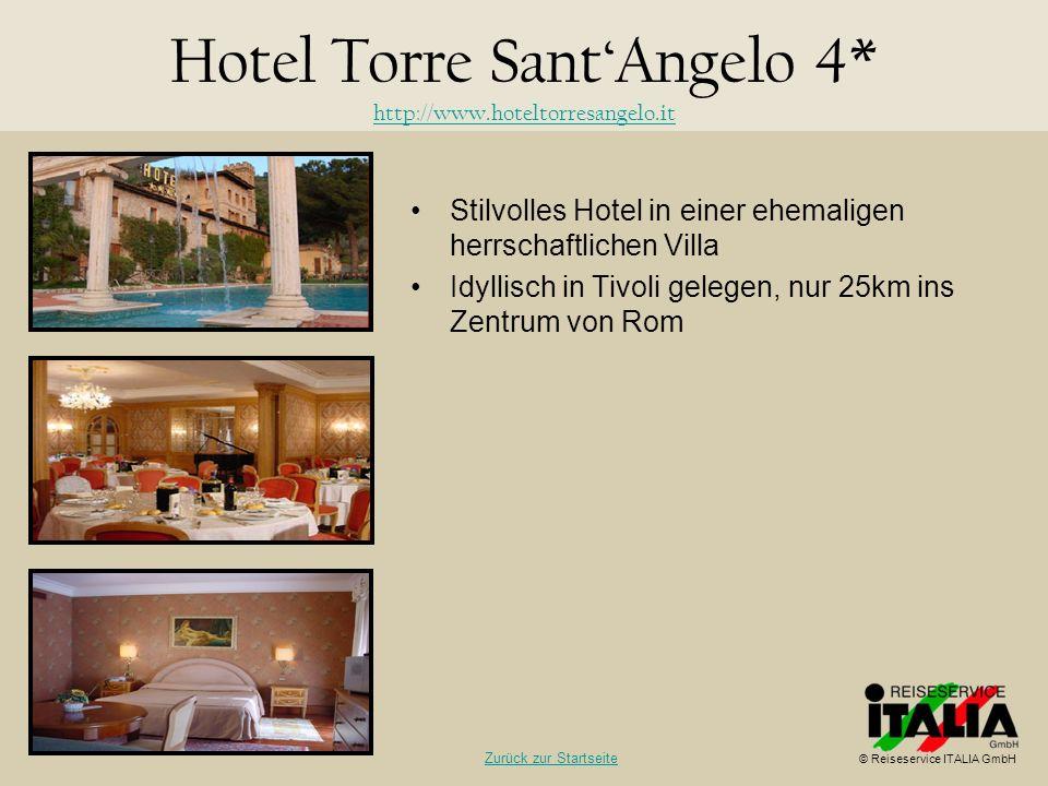 Hotel Torre Sant'Angelo 4* http://www.hoteltorresangelo.it