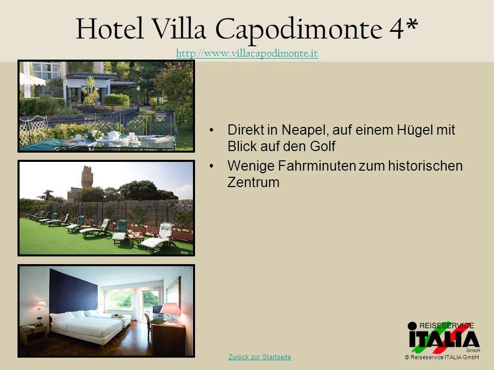 Hotel Villa Capodimonte 4* http://www.villacapodimonte.it