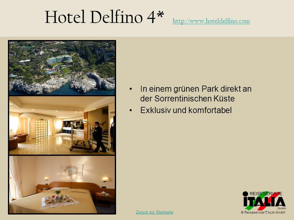 Hotel Delfino 4* http://www.hoteldelfino.com