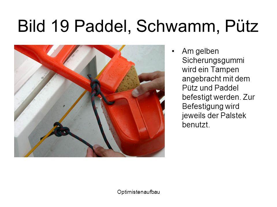 Bild 19 Paddel, Schwamm, Pütz
