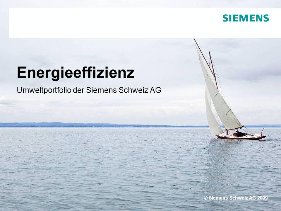 Text Umweltportfolio der Siemens Schweiz AG