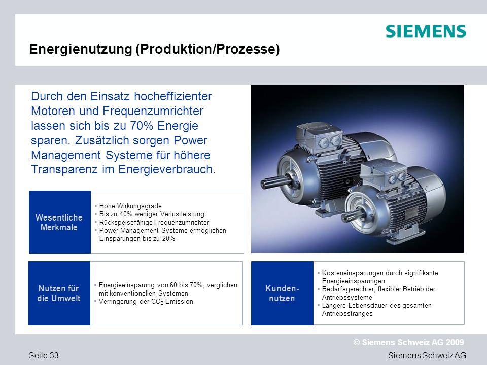 Energienutzung (Produktion/Prozesse)
