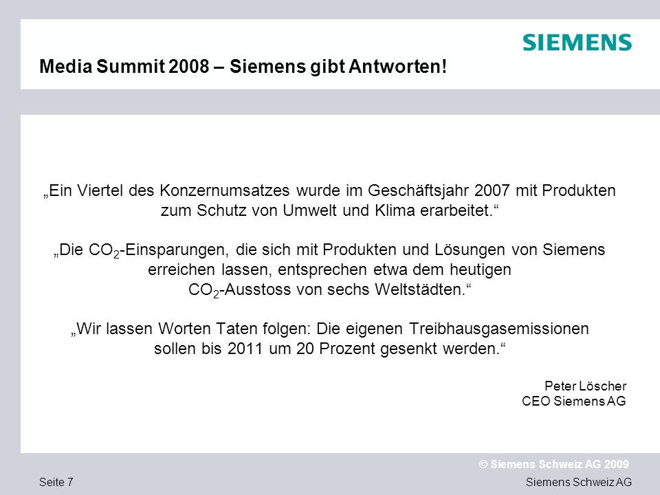 Media Summit 2008 – Siemens gibt Antworten!