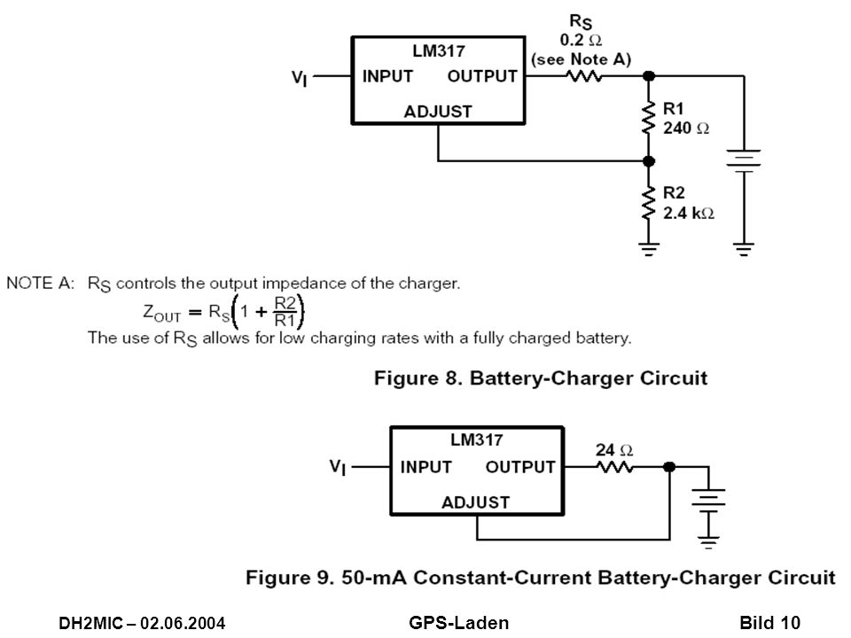 Aus TI-Datenblatt LM317.PDF