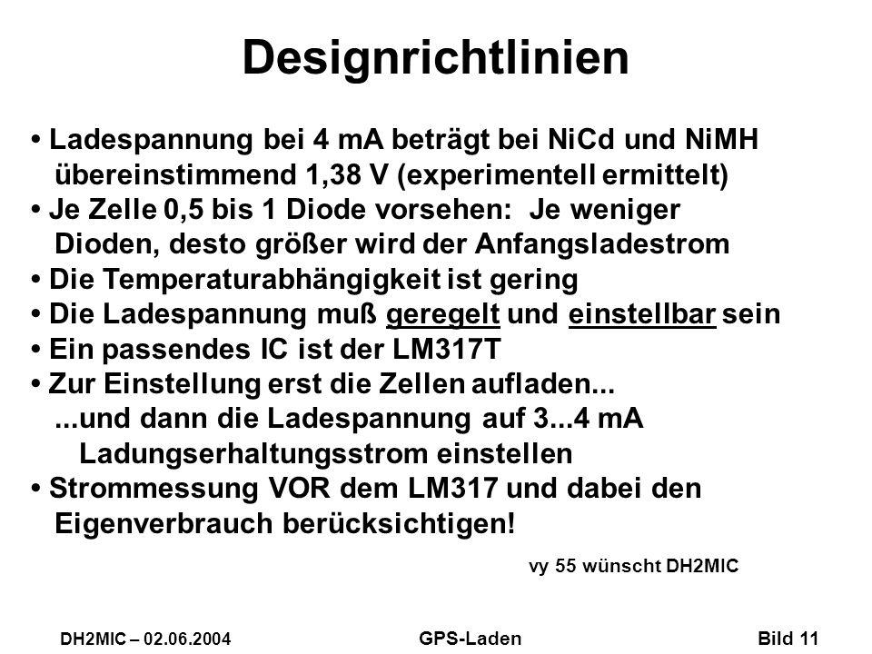 Designrichtlinien vy 55 wünscht DH2MIC