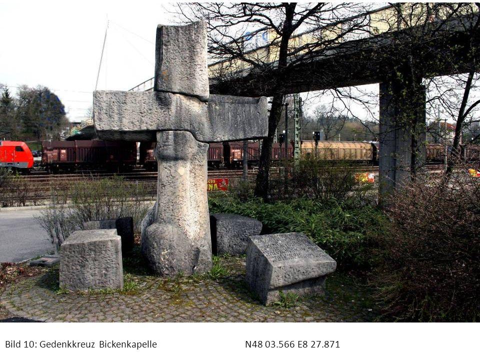 Bild 10: Gedenkkreuz Bickenkapelle N48 03.566 E8 27.871