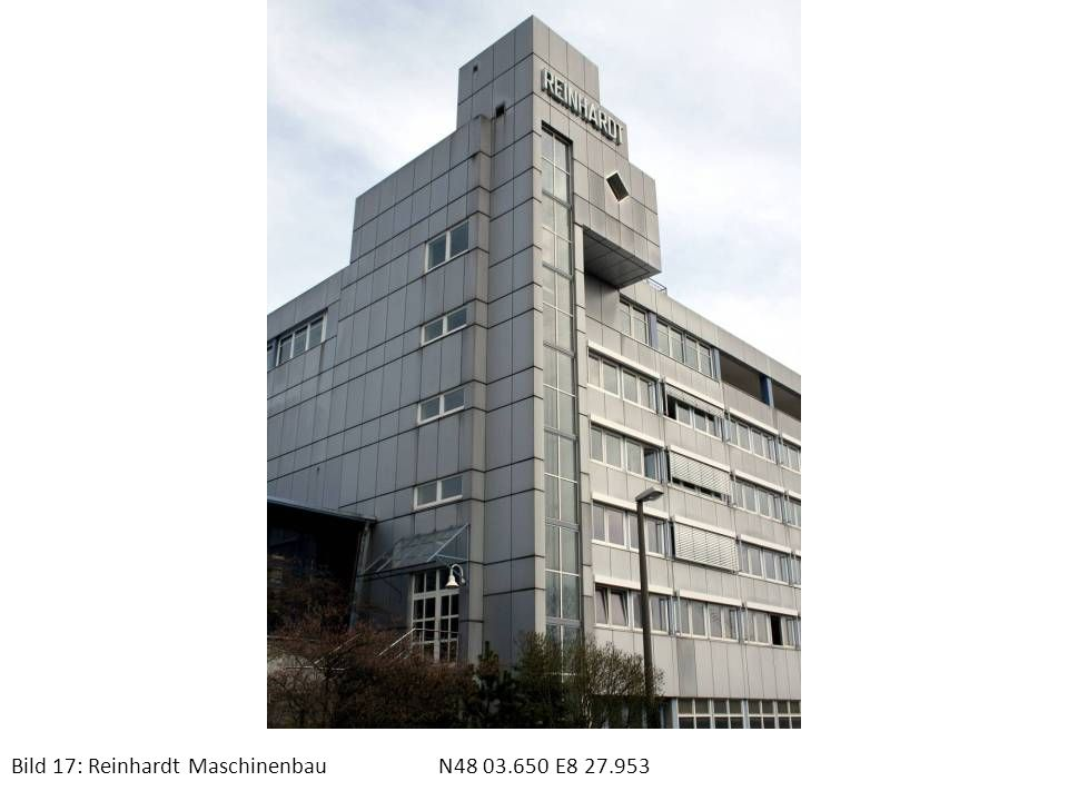 Bild 17: Reinhardt Maschinenbau N48 03.650 E8 27.953