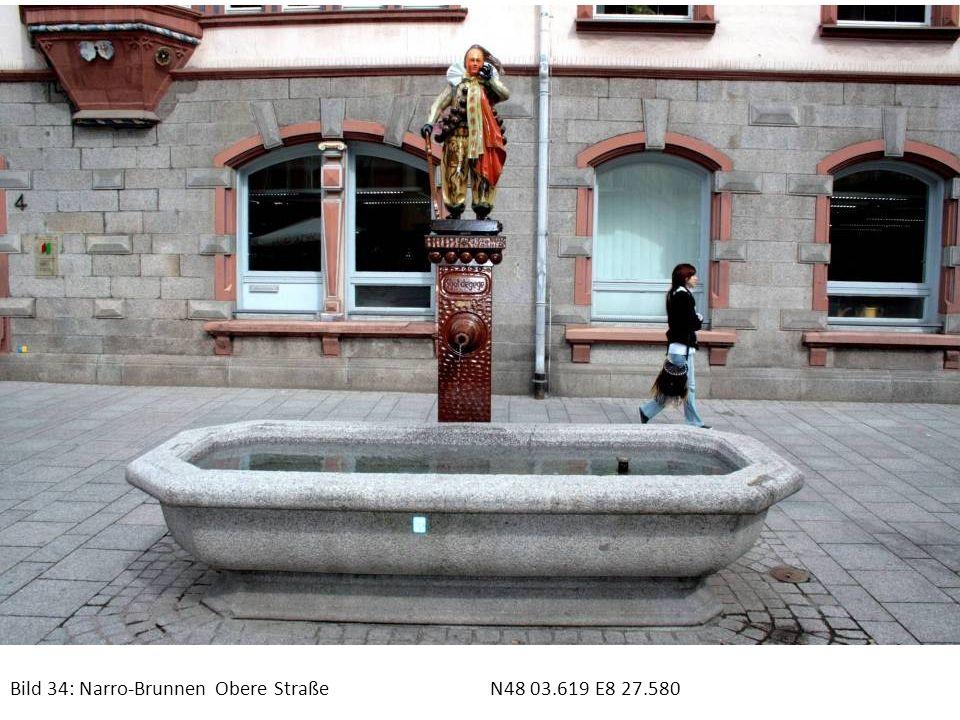 Bild 34: Narro-Brunnen Obere Straße N48 03.619 E8 27.580