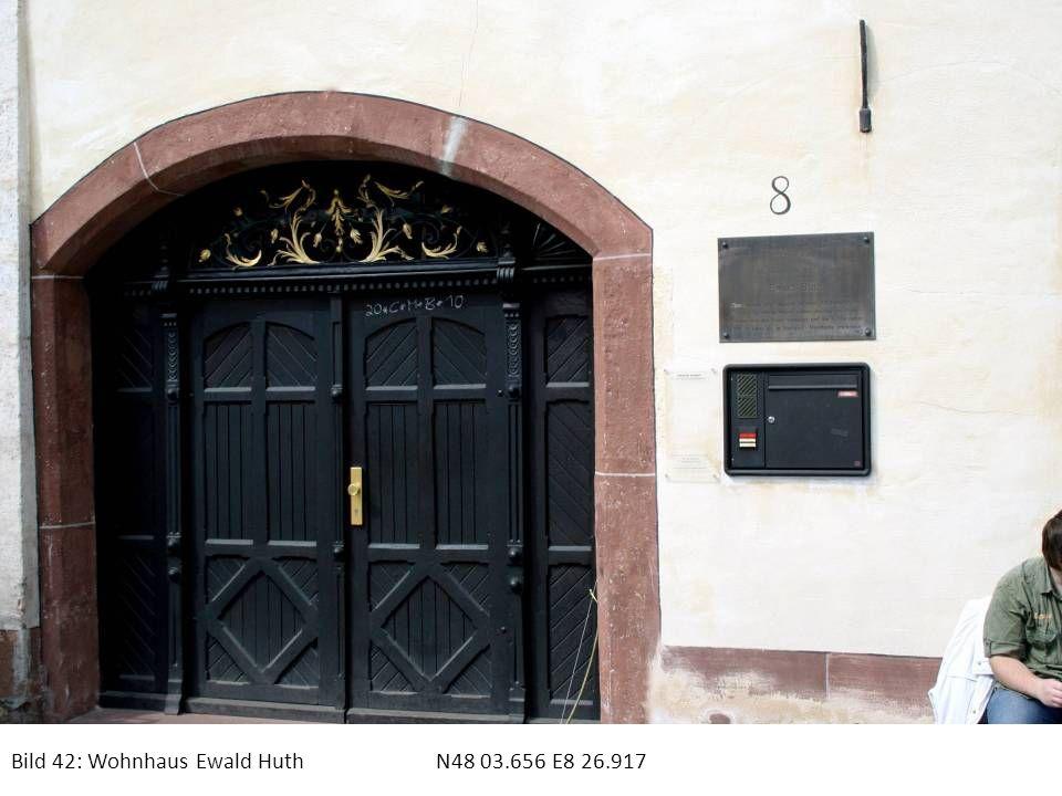 Bild 42: Wohnhaus Ewald Huth N48 03.656 E8 26.917