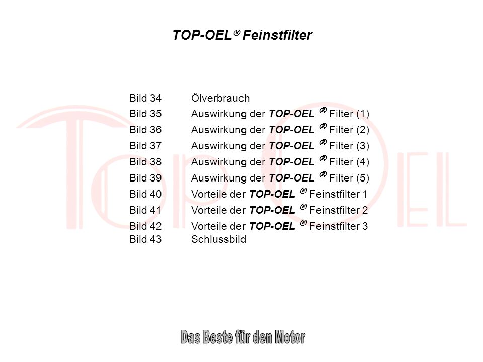 TOP-OEL Feinstfilter