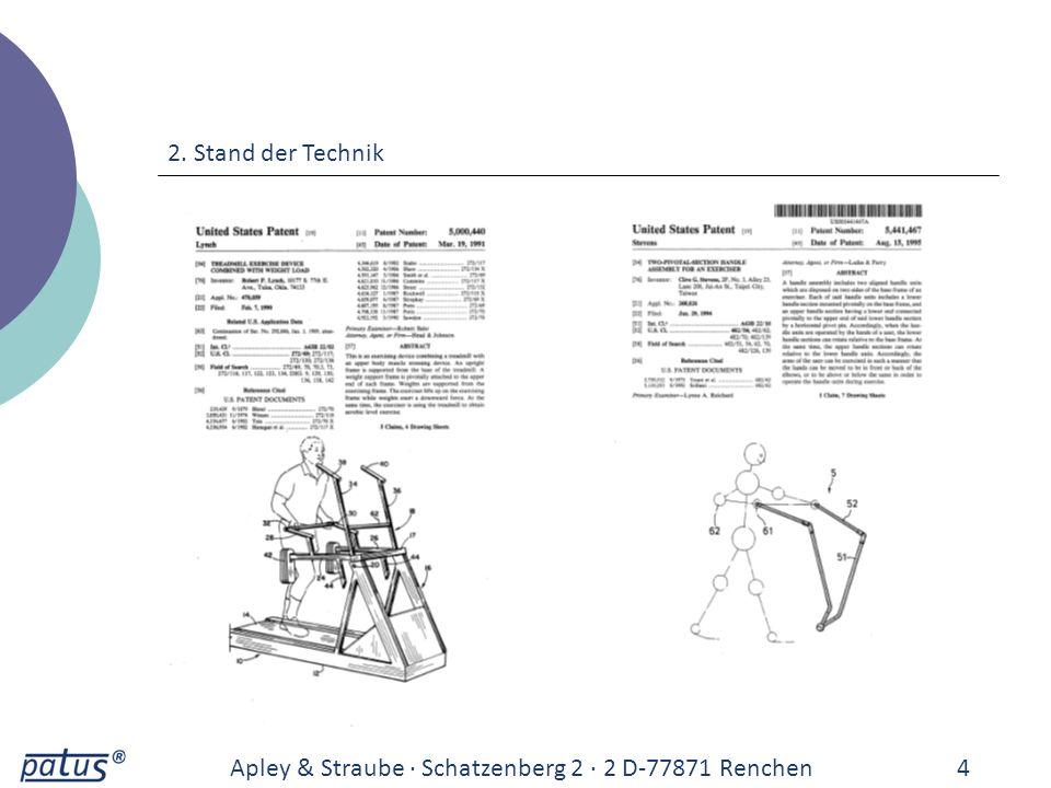 2. Stand der Technik Apley & Straube · Schatzenberg 2 · 2 D-77871 Renchen 4