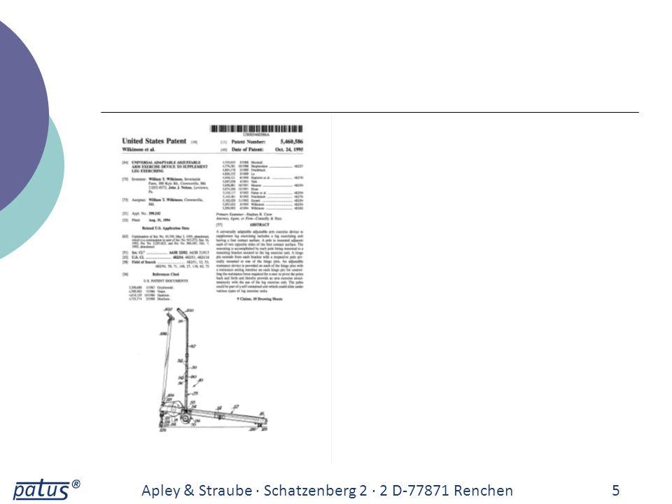 Apley & Straube · Schatzenberg 2 · 2 D-77871 Renchen 5