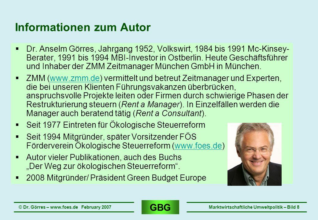 Informationen zum Autor