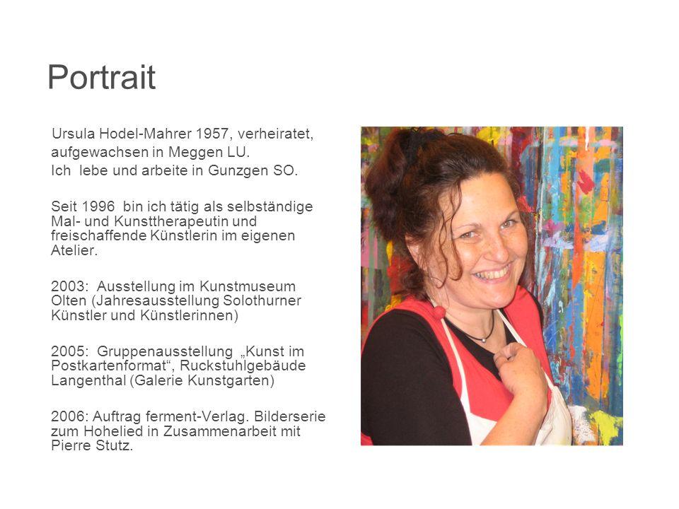 Portrait Ursula Hodel-Mahrer 1957, verheiratet,